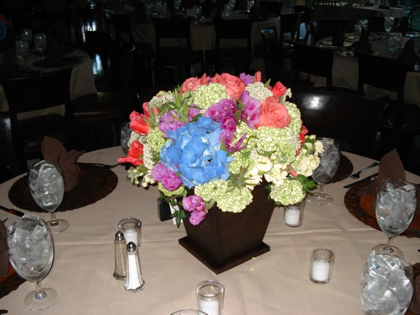 Marie Gabrielle's Reception Centerpiece