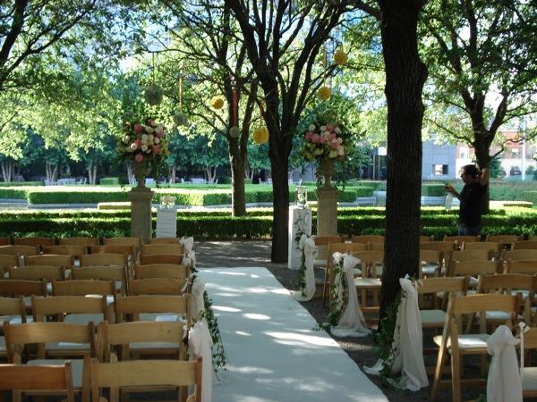 Marie Gabrielle's Garden Wedding
